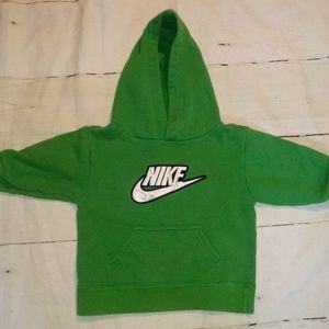 Infant Boys Green Nike Hoodie Size 3T